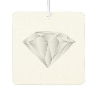 Weißer Diamant für meinen Schatz Autolufterfrischer