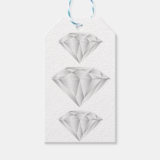 Weißer Diamant für meinen Schatz Geschenkanhänger