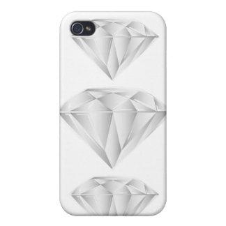 Weißer Diamant für meinen Schatz iPhone 4 Etuis