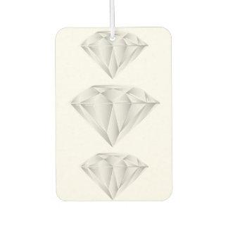 Weißer Diamant für meinen Schatz Lufterfrischer