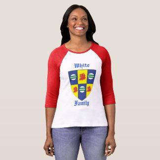 WEISSER Familienwappen(Sir John White) Rev Adam T-Shirt
