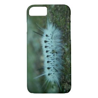 Weißer flockiger Raupe iPhone 7 kaum dort Kasten iPhone 8/7 Hülle