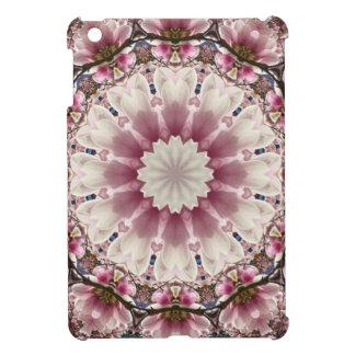 Weißer Frühling blüht 2,0, Mandalaart iPad Mini Hülle