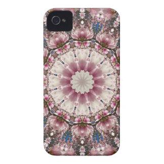 Weißer Frühling blüht 2,0, Natur-Mandala Case-Mate iPhone 4 Hülle