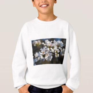 Weißer Frühlings-blühende Bradford-Birnen-Blüten Sweatshirt