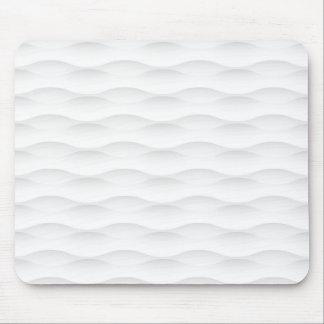 Weißer geometrischer beschatteter Hintergrund Mauspad