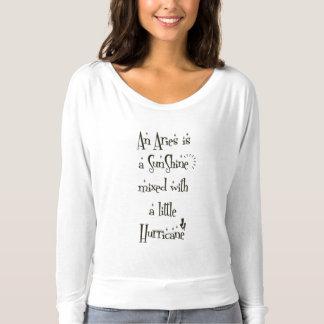 Weißer grundlegender T - Shirt für Widder-Frauen
