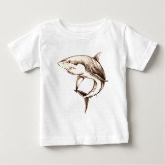 Weißer Hai Baby T-shirt