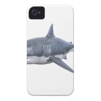 Weißer Hai, der rechts schwimmt iPhone 4 Hüllen