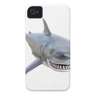 Weißer Hai, der zur Front schwimmt Case-Mate iPhone 4 Hülle