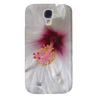 Weißer Hibiskus Galaxy S4 Hülle