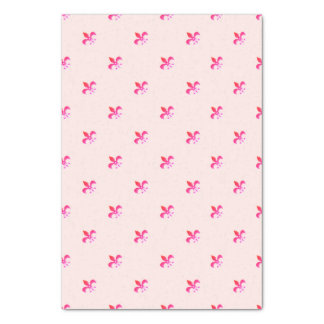 Weißer Hintergrund mit rosa Lilie Seidenpapier