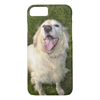 Weißer Hund iPhone 8/7 Hülle