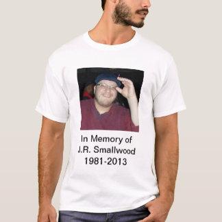 Weißer JR T - Shirt