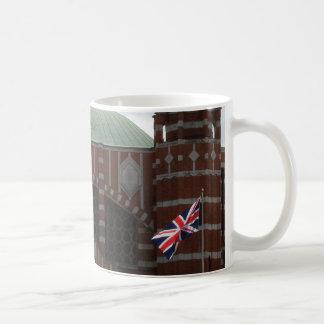 Weißer Kaffee-Tasse Kathedralen-Vereinigten Kaffeetasse