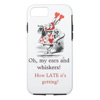 Weißer Kaninchen-Telefon-Kasten iPhone 8/7 Hülle
