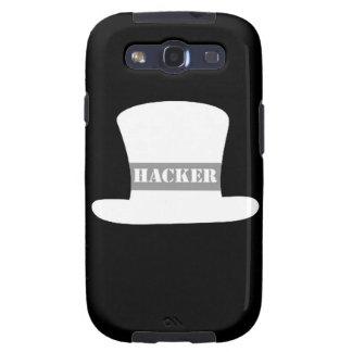 Weißer Kasten Hut-Hacker-Samsung-Galaxie-S Schutzhülle Fürs Samsung Galaxy S3