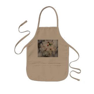 Weißer Kirschblüten-Entwurf Kinderschürze