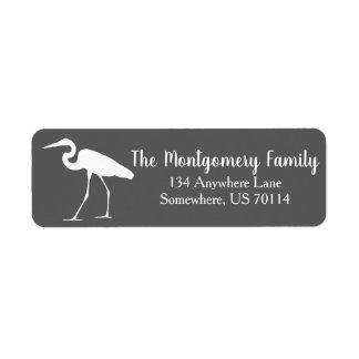 Weißer Küstenreiher u. graue Familie