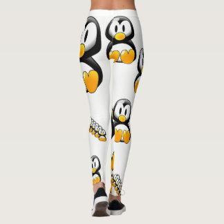 weißer legging Jugendlicher des gelben Pinguins Leggings