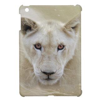 Weißer Löwe-Geist-Krieger Afrika iPad Mini Hülle