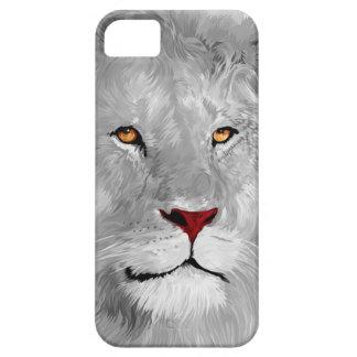 Weißer Löwe-Kasten Schutzhülle Fürs iPhone 5