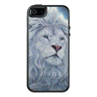 Weißer Löwe OtterBox iPhone 5/5s/SE Hülle