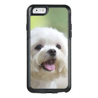 Weißer maltesischer Hund OtterBox iPhone 6/6s Hülle