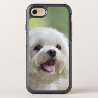 Weißer maltesischer Hund OtterBox Symmetry iPhone 8/7 Hülle