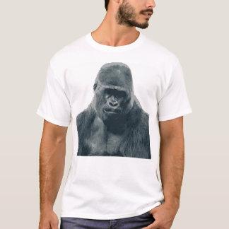 Weißer männlicher T - Shirt mit