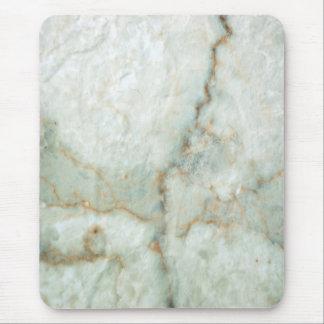 Weißer Marmor Mauspads