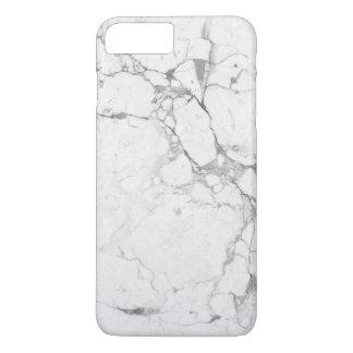 Weißer MarmoriPhone Kasten iPhone 8 Plus/7 Plus Hülle
