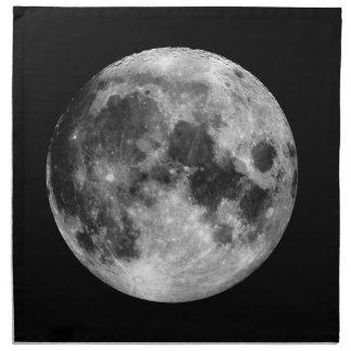 Weißer Mond Serviette