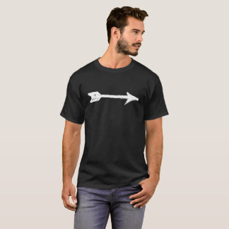 Weißer Pfeil T-Shirt