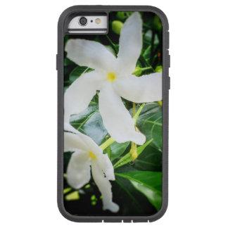 Weißer Pinwheel-Blume iPhone 6 Kasten Tough Xtreme iPhone 6 Hülle