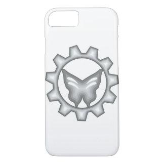 Weißer Projekt-Logo-Telefon-Kasten iPhone 8/7 Hülle