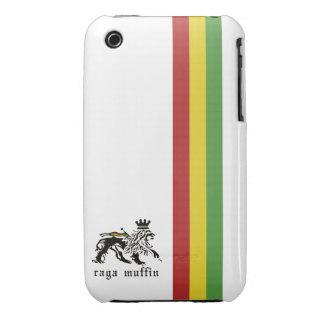 Weißer Rasta Streifen iPhone 3G/3GS Kasten iPhone 3 Hüllen