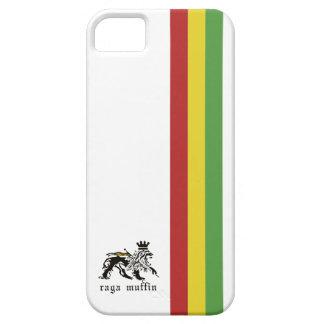 Weißer Rasta Streifen Iphone 5 Kasten iPhone 5 Cover