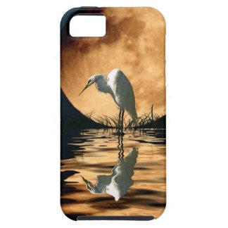 Weißer Reiher-Fantasie-Tier-Kunst-Gerät-Kasten Etui Fürs iPhone 5