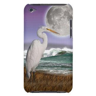 Weißer Reiher-, Mond-u. Barely There iPod Case