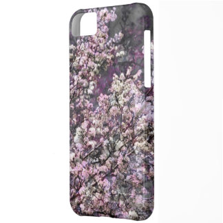 Weißer rosa Kirschblüten iPhone 5c Kasten iPhone 5C Schale