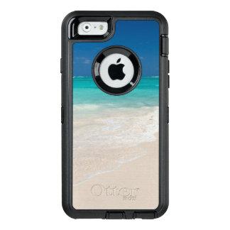 Weißer Sand-Strand und klares Türkis-Wasser OtterBox iPhone 6/6s Hülle