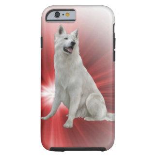 Weißer Schäferhund Tough iPhone 6 Hülle