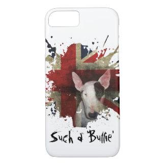 Weißer Stier-Terrier-Gewerkschafts-Jack iPhone 7 iPhone 8/7 Hülle