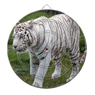 Weißer Tiger Dartscheibe