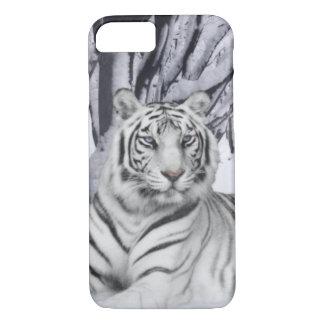 Weißer Tiger iPhone 8/7 Hülle