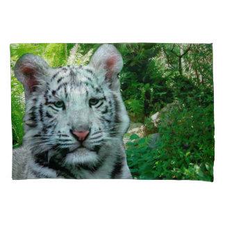 Weißer Tiger Kissen Bezug