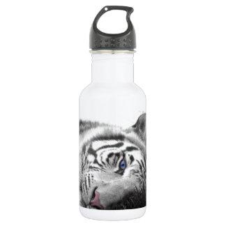 Weißer Tiger Trinkflaschen