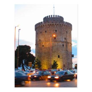 Weißer Turm, Postkarte Saloniki, Griechenland