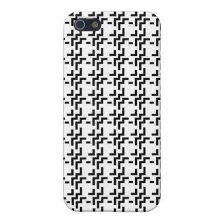 Weißer Tweed iPhone 5 Cover